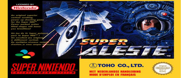 Super Aleste sur Super Nintendo