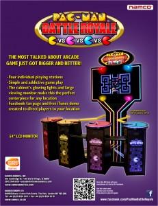 Pac-Man Battle Royale DX Brochure