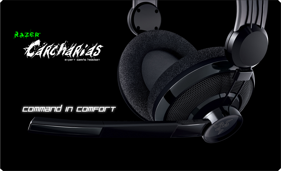 Razer Carcharias : Only for Gamers.