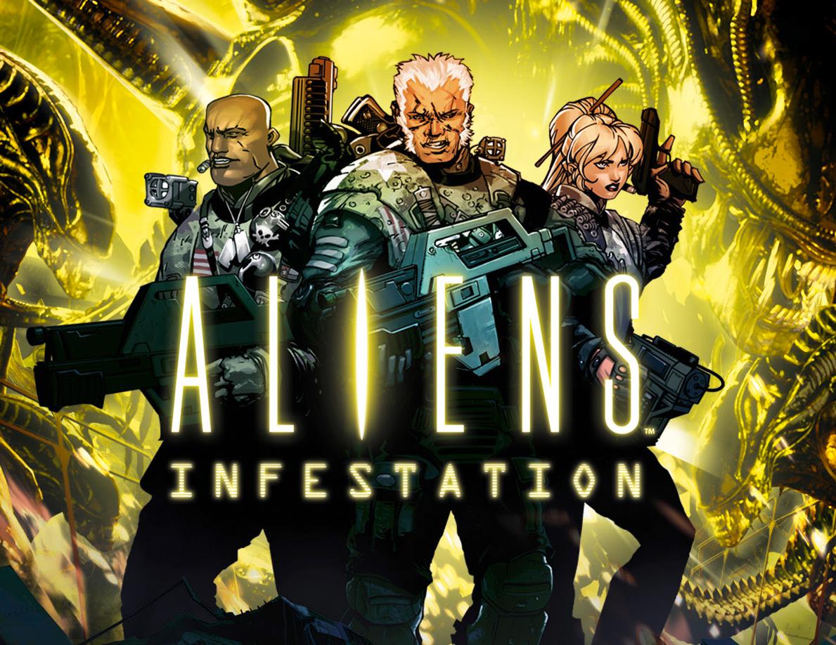 Aliens Infestation: De l'acide rétro dans les veines