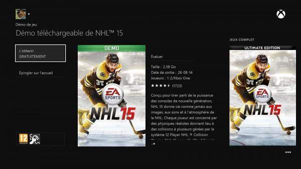 Xbox One demo