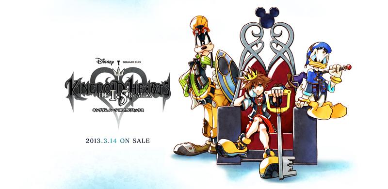 Kingdom Hearts – 1.5 HD Remix