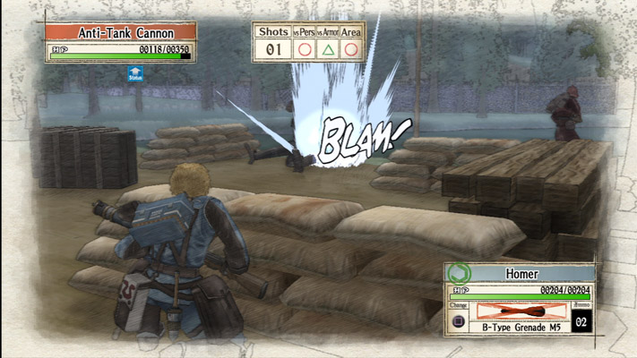 Valkyria_Chronicles_battle
