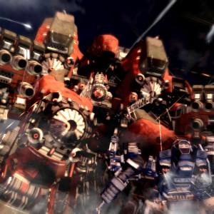 Armored Core V : Les méchas sont impressionnants