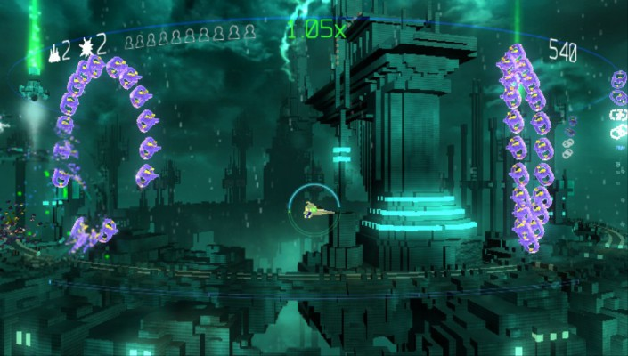 Resogun vagues