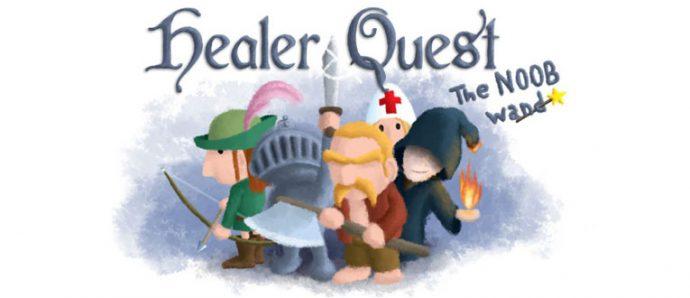 Healer Quest sur smartphones