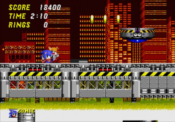 3D Sonic 2 - Chemical Plant Zone