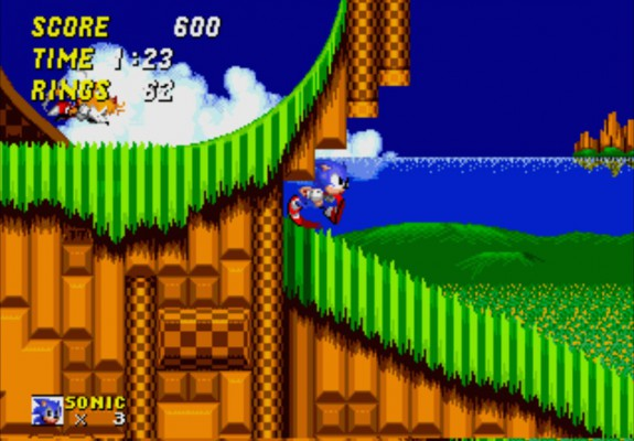 3D Sonic 2 - Emerald Hill Zone