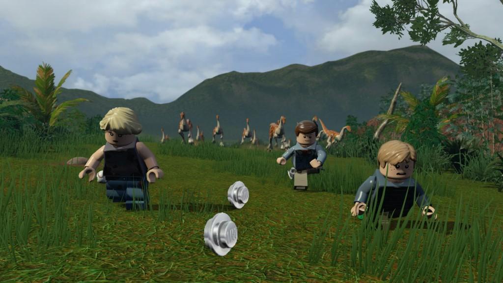 Le jeu propose plusieurs séquences de fuite face aux dinosaures pour un coté Crash Bandicoot.