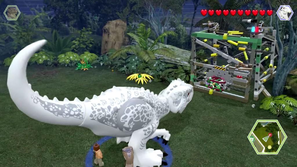On peut même incarner les dinosaures.