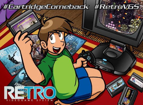 Retro VGS-cartridge comeback