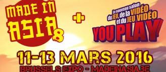YouPlay, le nouveau DLC du salon Made In Asia !