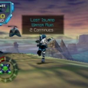 Jet Force Gemini sur Nintendo 64.