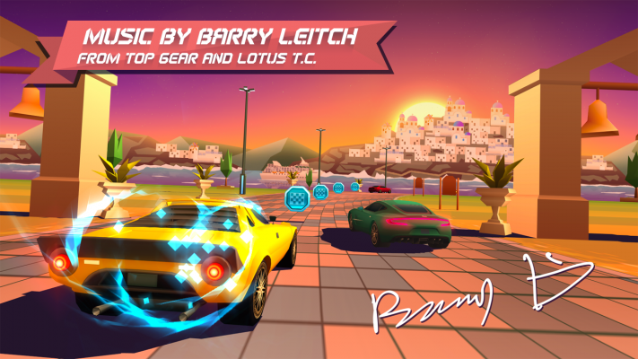 Horizon Chase - Music by Barry Leitch