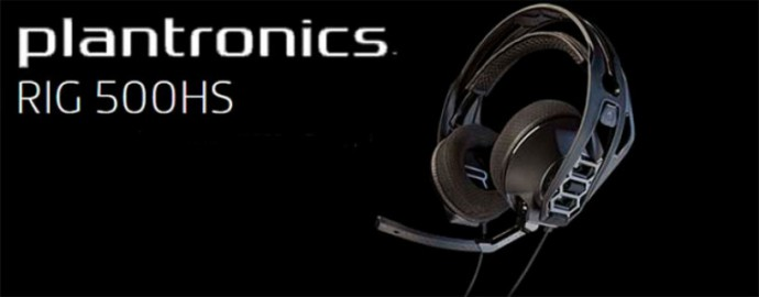 Plantronics RIG 500 HS