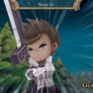 The Legend Of Legacy - Owen vient de monter le niveau de sa compétence Garde.
