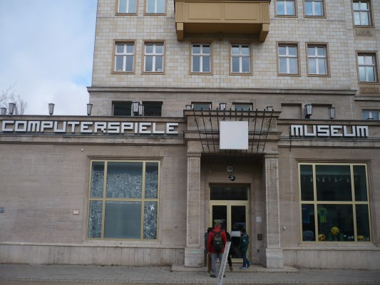 La façade du musée