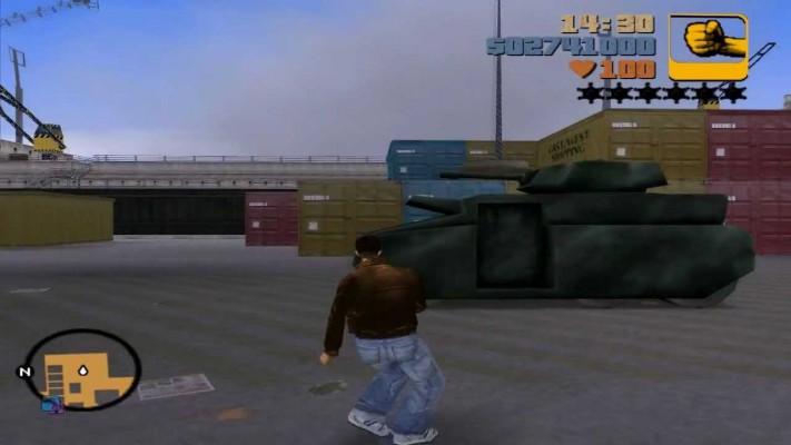 Quel joueur de GTA 3 n'a jamais utilisé le code pour faire apparaître ce bestiau ?