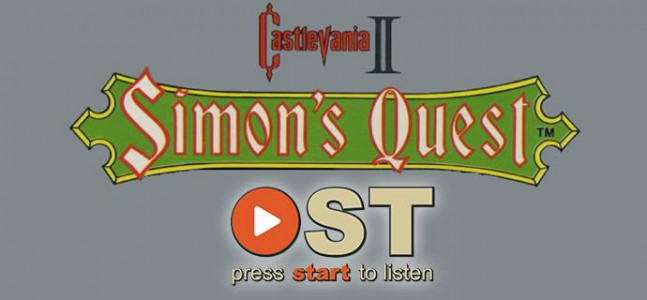 OST Episode 3 – Bloody Tears – Castlevania II : Simon's Quest