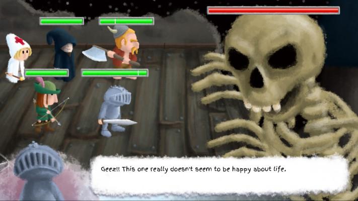 Healers Quest boss