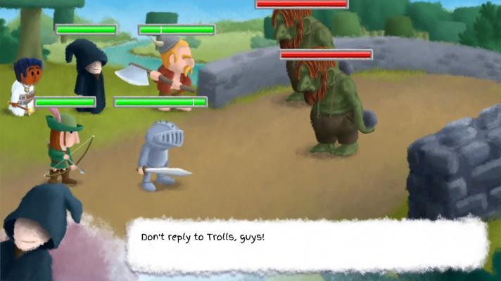 Healers Quest troll