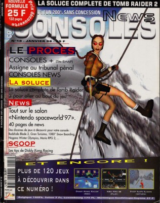 Consoles News 18 - Page 001 (Janvier 1998)