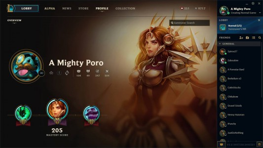 Le nouveau client de League of Legends