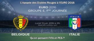L'épopée des Diables Rouges à l'EURO 2016 #01