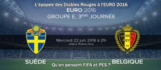 L'épopée des Diables Rouges à l'EURO 2016 #03