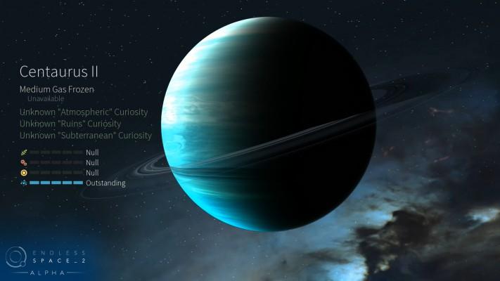 Aperçu d'une planète