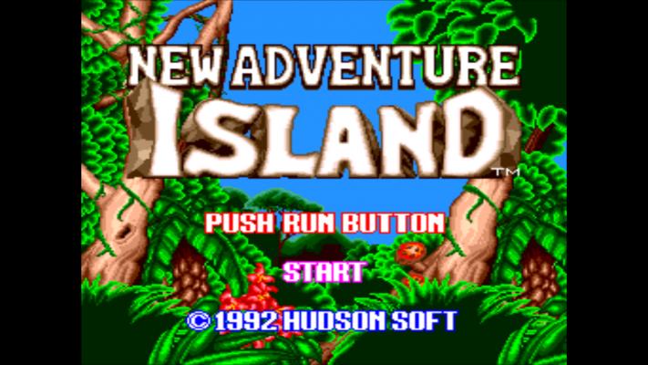 New Adventure Island titre