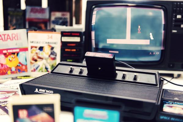 Dark Chambers - Atari - Retrogaming - Petite Snorkys Photography