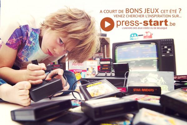 Atari - Press Start - Petite Snorkys Photography