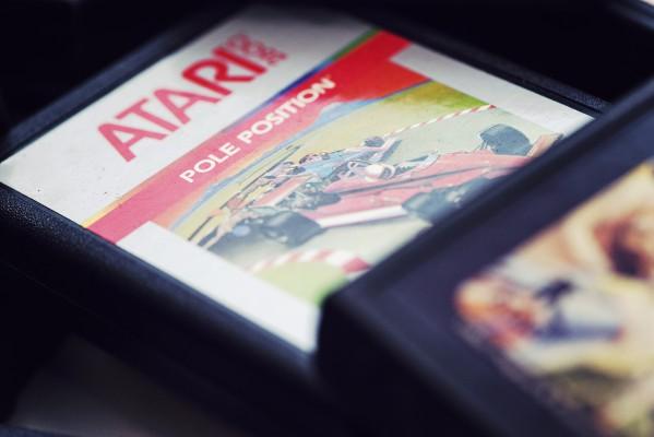 Pole Position - Atari - Retrogaming - Petite Snorkys Photography