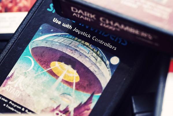 Space Invaders - Atari - Retrogaming - Petite Snorkys Photography