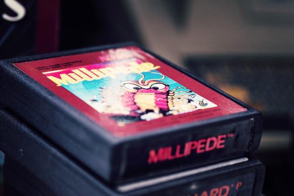 Milipede - Atari - Retrogaming - Petite Snorkys Photography