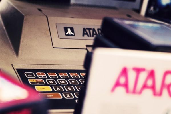 Atari 400 - Atari - Retrogaming - Petite Snorkys Photography