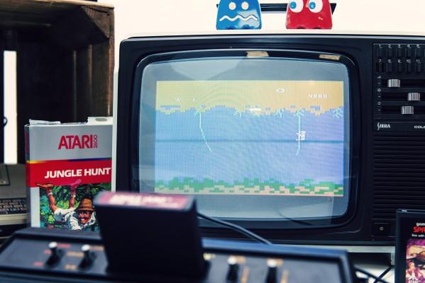 Jungle Hunt - Atari - Retrogaming - Petite Snorkys Photography