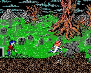 Monster Bash, un petit gout de Ghost & Goblins ?