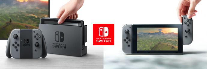 Nintendo Switch – le concept attendu mais accrocheur