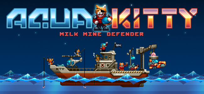 Save Milk Today : Aqua Kitty