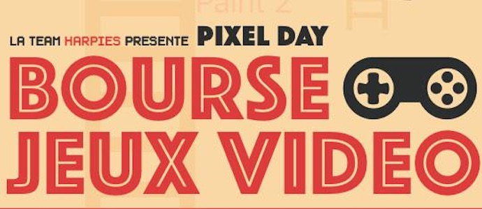 Pixel Day le 23 avril à Charleroi