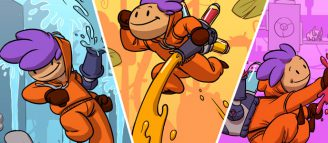 Splasher éclabousse la Switch