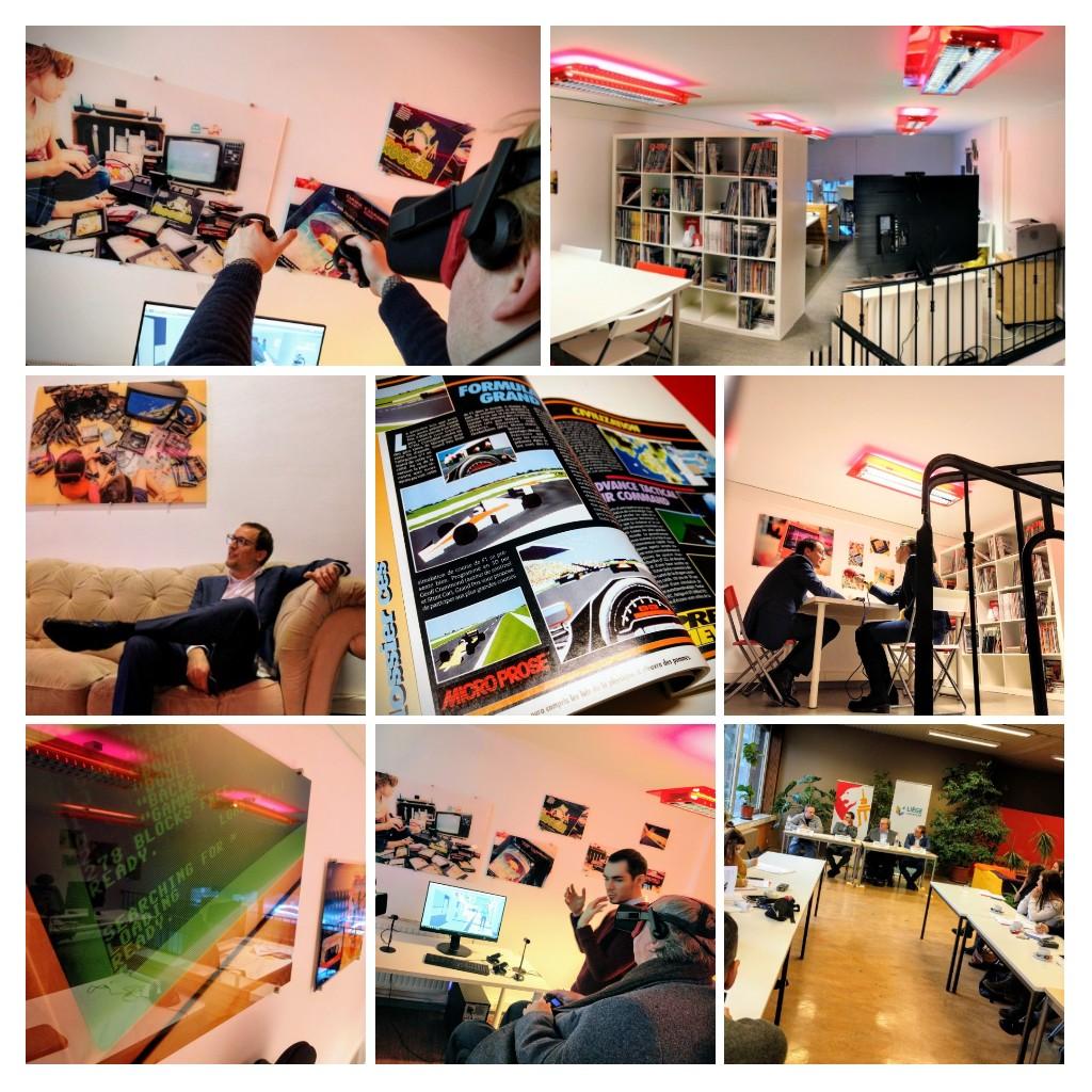 Inauguration du Digital Lab de Liège