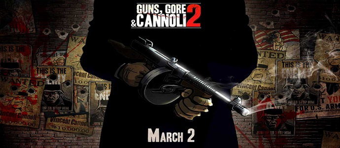 Guns Gore & Cannoli 2 – le 2 mars sur Steam