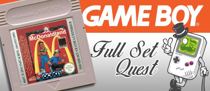 Full Set Quest GB #03 – McDonaldland