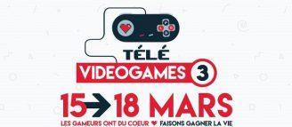 Télévideogames – un marathon à but caritatif