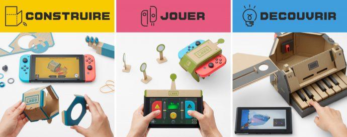 Nintendo Labo – Première prise en main, premier avis