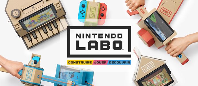 De nouvelles informations sur le mode atelier du Nintendo Labo