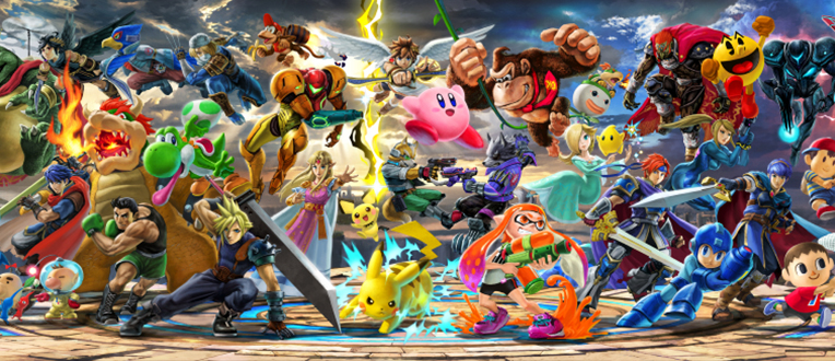 De nouvelles têtes dans Super Smash Bros. Ultimate